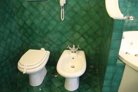 Santa Caterina Hotel: toilets in bathroom