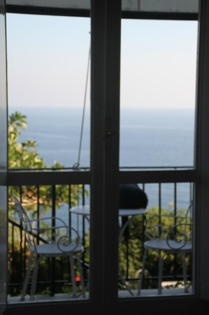Santa Caterina Hotel: the only sunny day we had