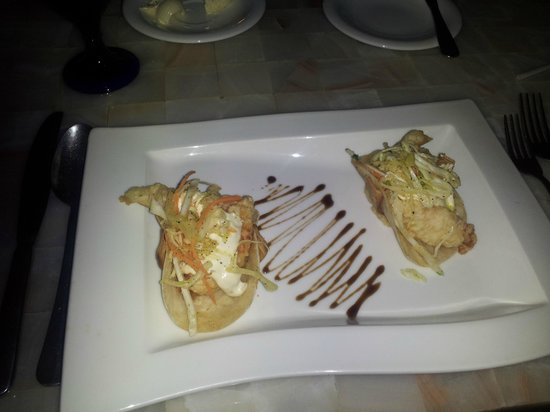 Marriott Puerto Vallarta Resort & Spa : Lobster tacos
