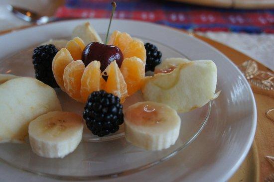 Bijou dans la Foret: Breakfast