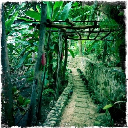Le Bout du Monde - Khmer Lodge :                   paths leading to your cabin