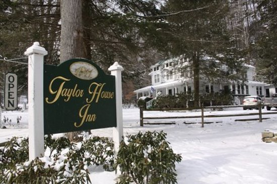 Winter Time at The Taylor House Inn