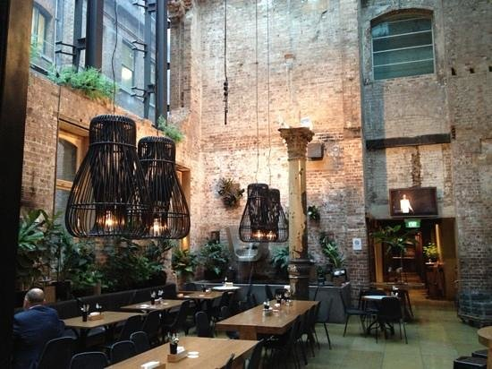 The Establishment: one of the dining spaces