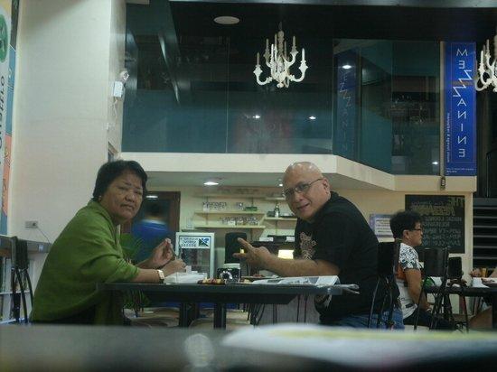 Hotel Pier Cuatro:                   Dining room