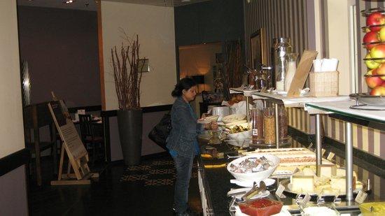 Ameron Hotel Flora Luzern:                   The buffet b/f