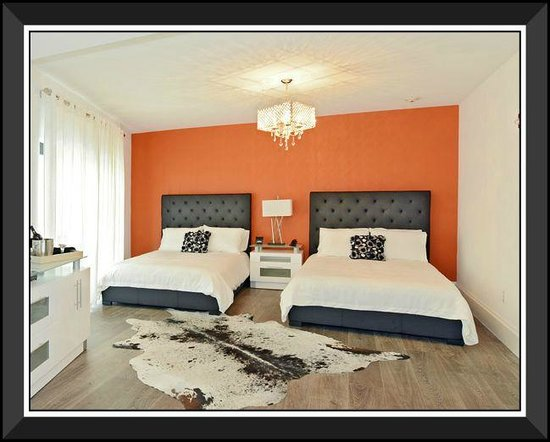 Ithaca of South Beach Hotel: The Orange Suite - Double Queen Queen