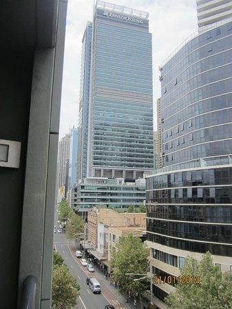 بريك فري أون جورج:                   View from our room                 