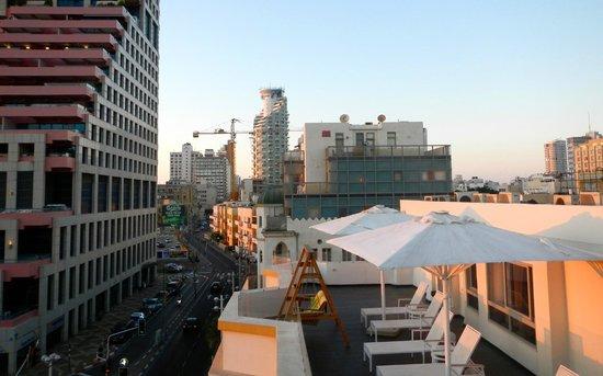 هاياركون 48 هوستل: Rooftop View