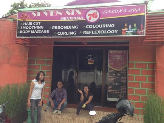 Beleza Salon and Spa 2:                                     Seven Six 76 Salon and Spa