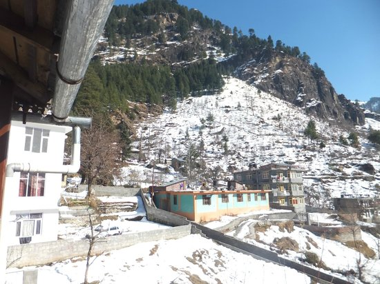 Honeymoon Inn Manali:                   View