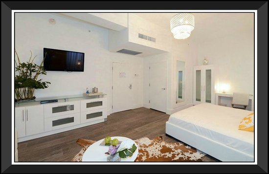Ithaca of South Beach Hotel: Spacious Suites