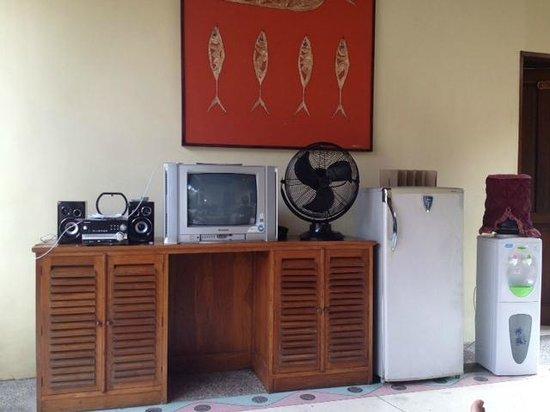 Putri Bali Suite Villa:                                     Living room