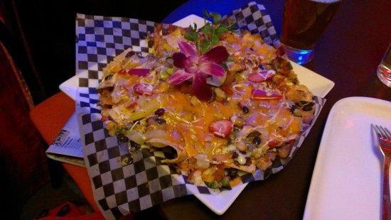 Nourish Bistro :                   Incredible nachos