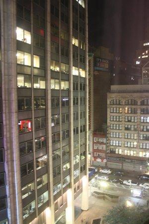โรงแรมสแตนฟอร์ด: Vista desde la habitación