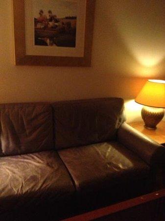 Radisson Blu Hotel, Manchester Airport: sofa