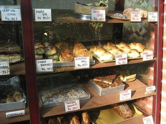 German Bakery:                   What's on offer ( not current prices )