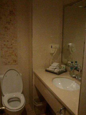Changchun Garden Hotel:                   bathroom