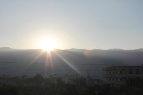 Hotel Teerth Palace:                   Sunrise