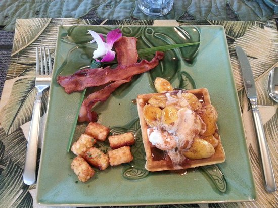 Honu Kai B&B:                   Breakfast course 2