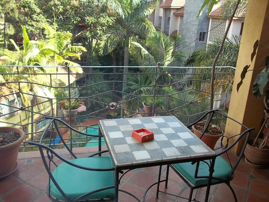Woodmere Serviced Apartments: The balcony of my 3 bedroom duplex apartment