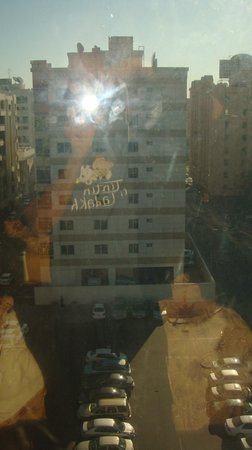 Nihal Hotel: view from window