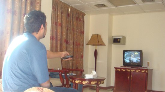 Nihal Hotel: room setup