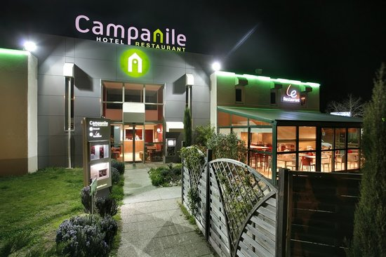 Campanile Valence Nord : exterieur