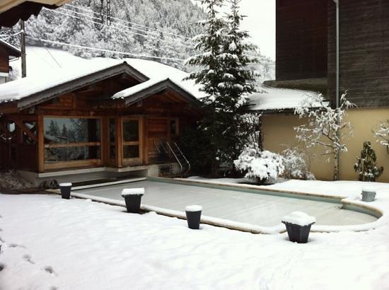 Chalet Philibert :                   Sauna - Swimmingpool