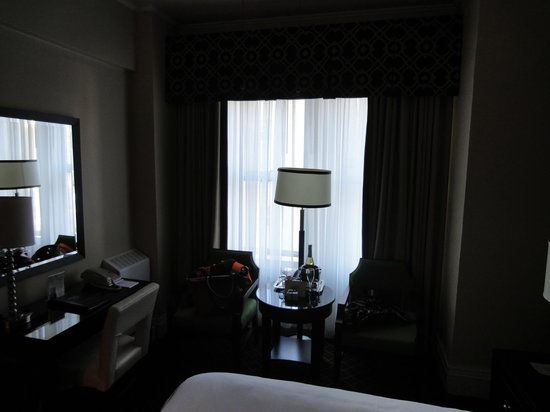 Chancellor Hotel on Union Square:                   Bedroom