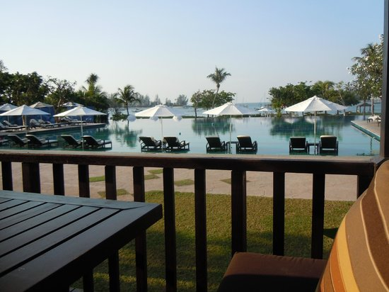 The Danna Langkawi, Malaysia:                   View from the breakfast table