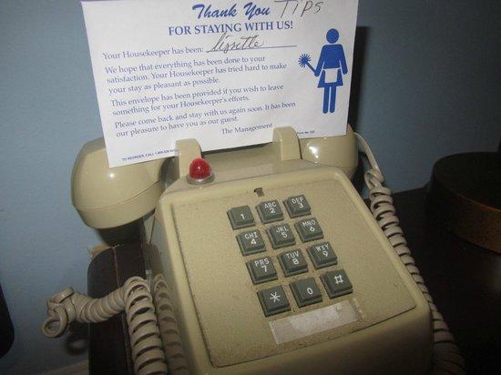 Princess Ann Hotel:                   la mancia è richiesta per la pulizia?!?