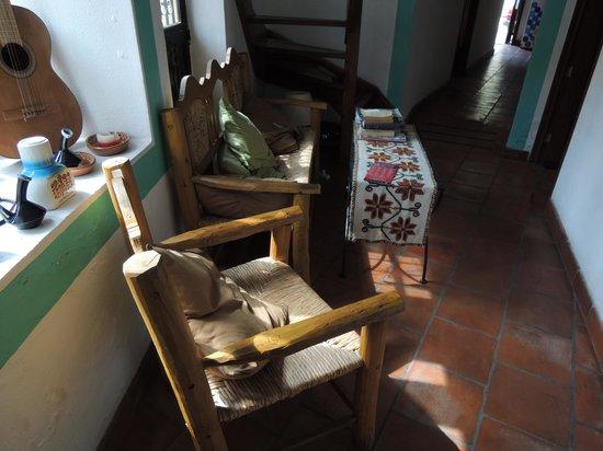 أل سون دي لوس سانتوس - هوستل:                   Interior                 