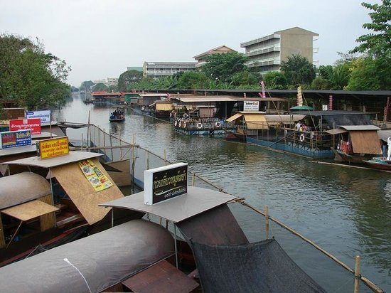 ‪Kwan-Riam Floating Market‬