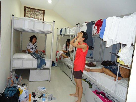 Mitraa Inn:                                     6 mix dorm room on 2nd floor