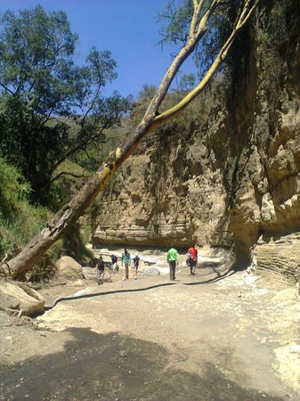 Naivasha, Kenya:                                     The gorges