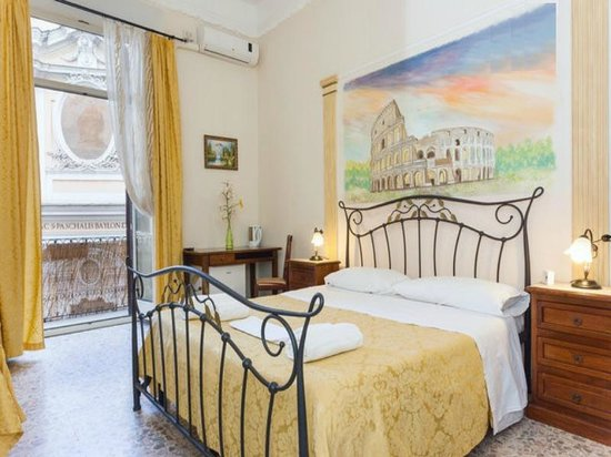 ‪‪Trastevere Terrace Suites‬: Colosseum room‬