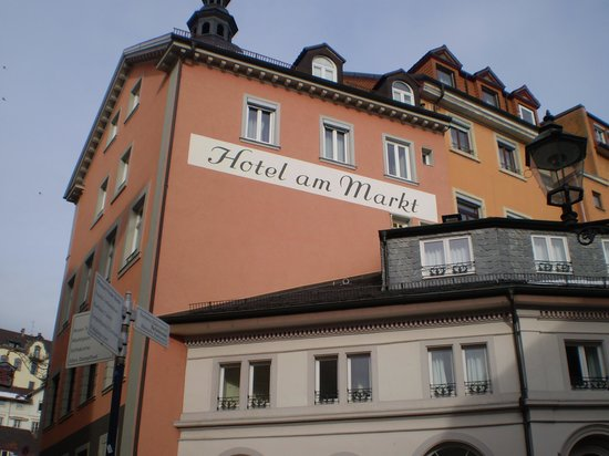 Hotel am Markt:                   esteno albergo
