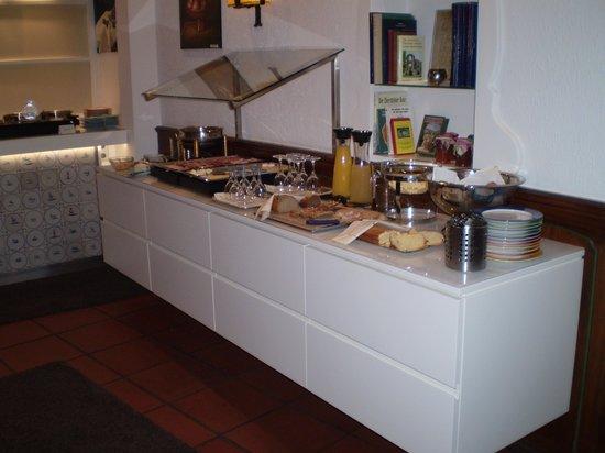 Hotel Am Markt:                   sala per la colazione