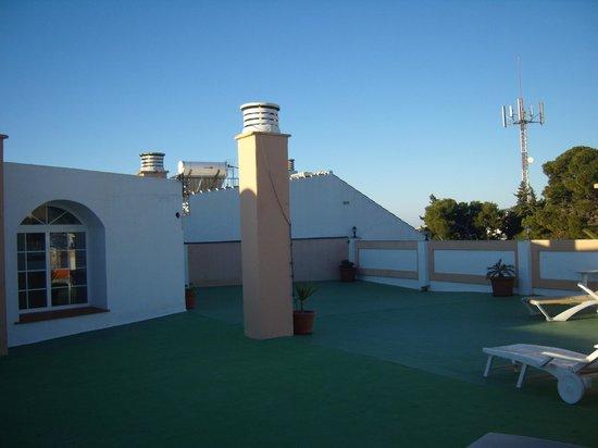 Apartamentos Casanova:                   roof