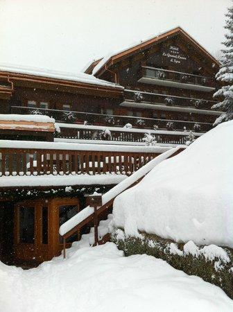 Hotel Le Grand Coeur & Spa : la façade de l'hotel