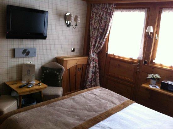 Hotel Le Grand Coeur & Spa: la chambre