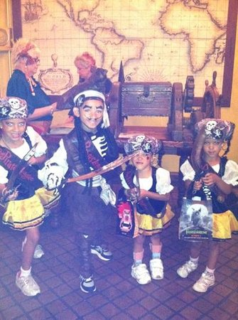 The Pirates League :                   A Pirate and his Empress sisters.