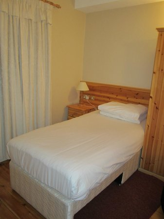 Harbour Mill:                   Single bed in the twin room
