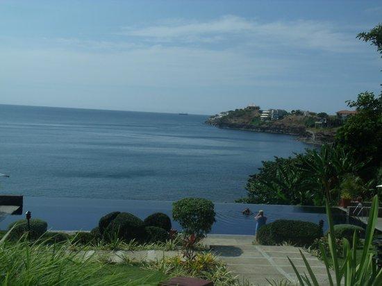 Club Punta Fuego:                   Overlooking the Reception Area