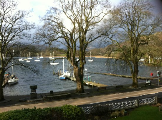 Waterhead Hotel:                   View from our room