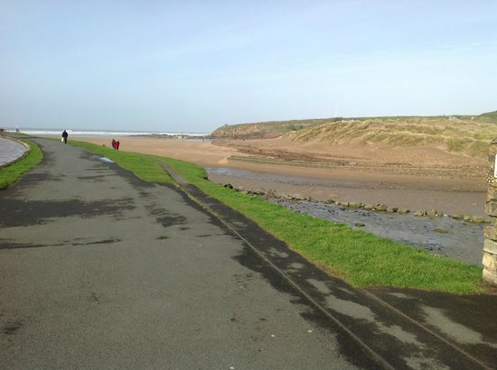 Brendon Arms:                   Views of the canal and beach just across the road from the Brendon taken yeste