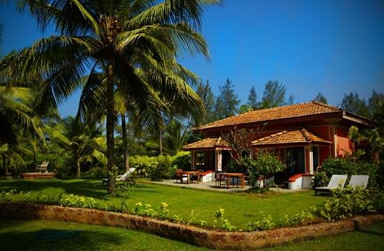Taj Holiday Village Resort & Spa:                   Sea facing cottage