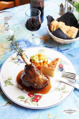 Restaurant le Grand Chene: Souris D'agneau Confite de longue heure au four