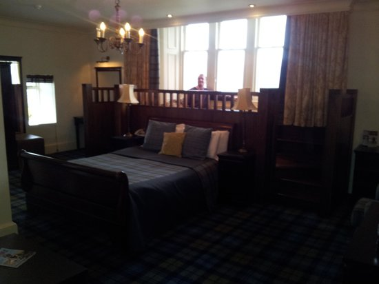 Loch Fyne Hotel & Spa:                   room and views are beautiful