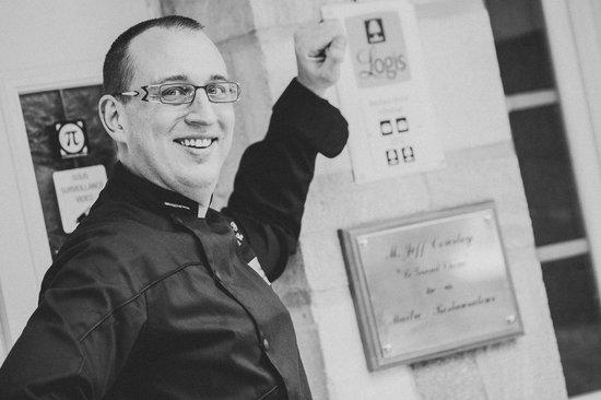 Auberge du Grand Chene: Le chef & Gérant Jeff COURTOY